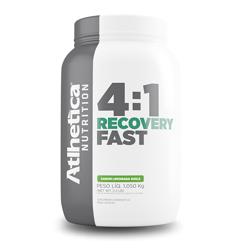 Recovery Fast (1050g) Atlhetica Nutrition-Laranja