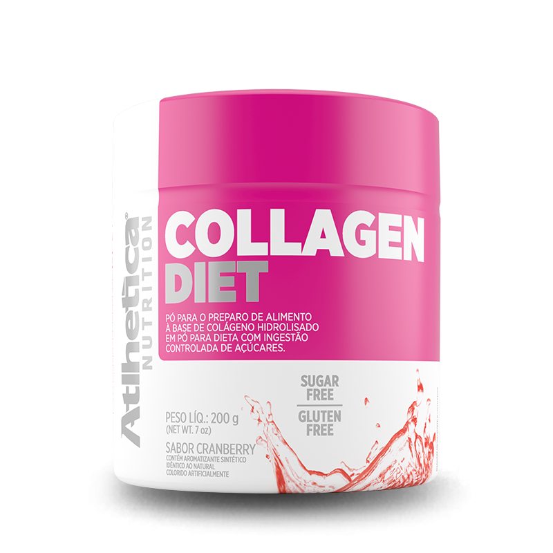 Collagen Diet (200g) Atlhetica Nutrition-Tangerina