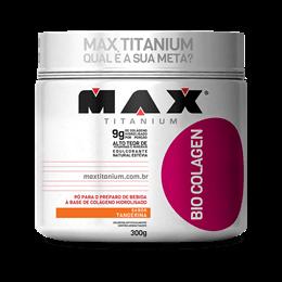 Bio Colagen (300g) Max Titanium-Frutas Vermelhas