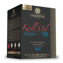 Óleo de Krill (60caps) Essential Nutrition