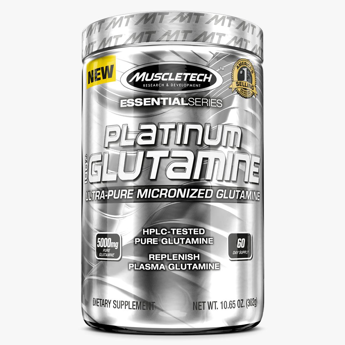 Platinum 100% Glutamine (100g) MuscleTech
