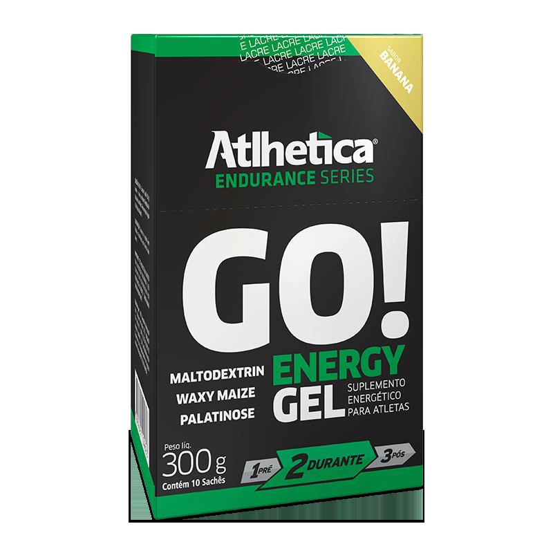 GO! Energy Gel (10sachês-30g) Atlhetica Nutrition