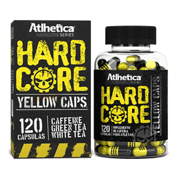 Hardcore Yellow (120caps) Atlhetica Nutrition