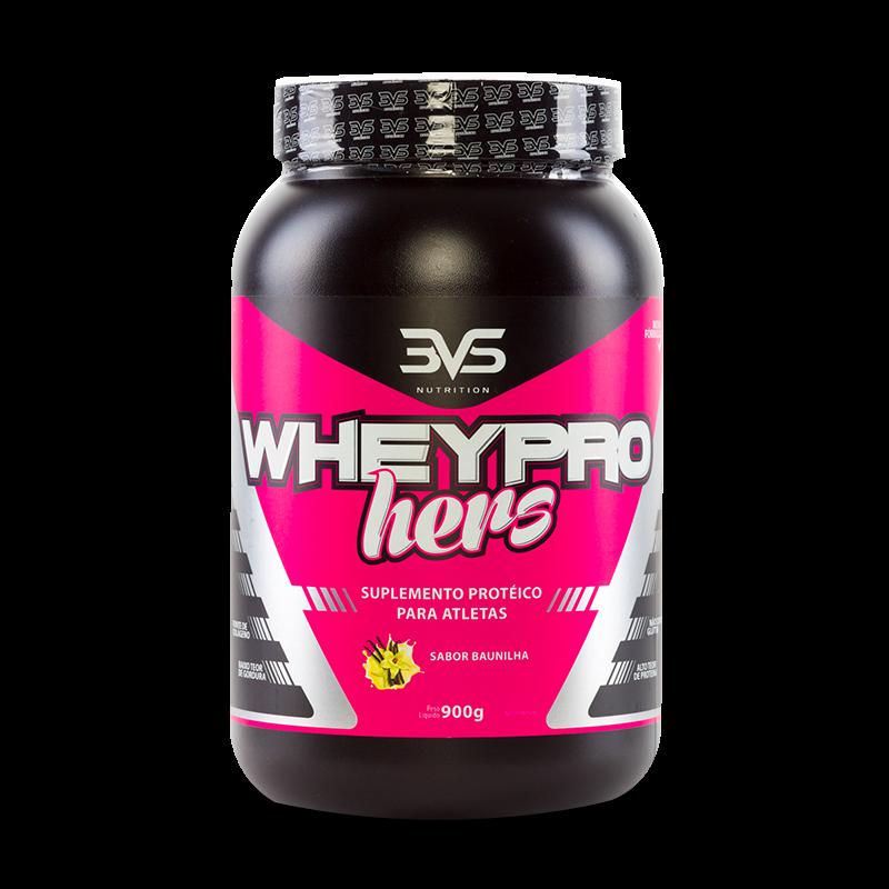 Whey Pro Hers (900g) 3VS-Morango