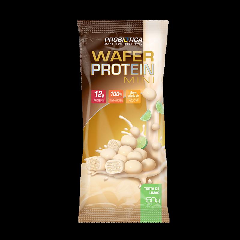 Wafer Protein Mini (Unidade-50g) Probiótica-Chocolate com Avelã