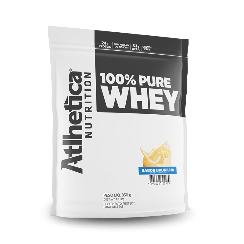 100% Pure Whey (850g) Atlhetica Nutrition