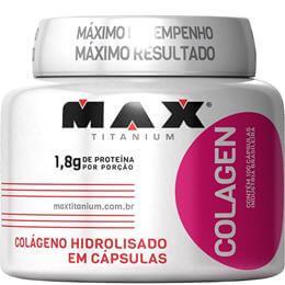 Colagen Hidrolisado (100caps) Max Titanium