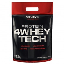 4 Whey Tech (1,8kg) - Atlhetica Nutrition