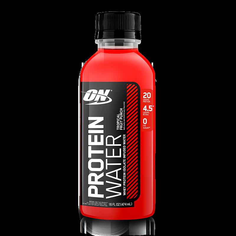 Protein Water (473ml) Optimum Nutrition-Blue Raspberry (Framboesa Azul)