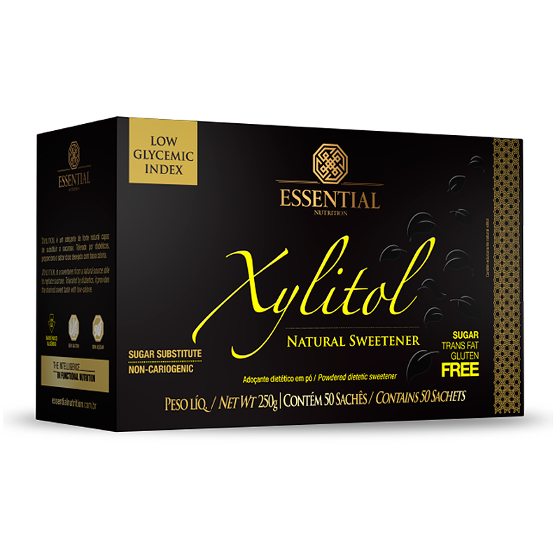 Xylitol (50sachês-5g) Essential Nutrition