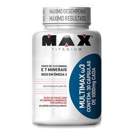 Imagem - Multimax ?3 (30caps) Max Titanium