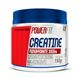 Creatina Monohydratade (150g) PowerFit Nutritilatina - 30% OFF