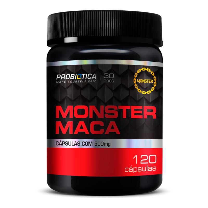 Monster Maca (120caps) Probiótica