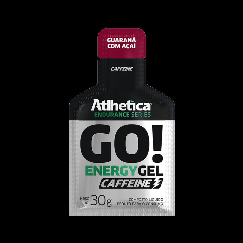 Go! Energy Gel Caffeine (10Sachês-30g) Atlhetica Nutrition