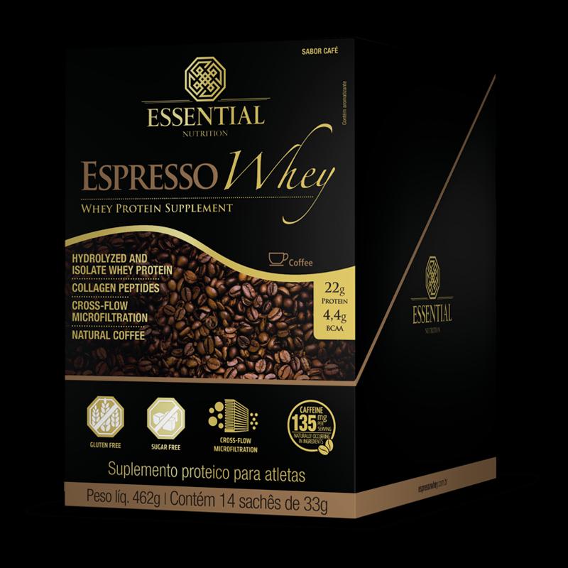 Expresso Coffe Whey (14sachês-33g) Essential Nutrition