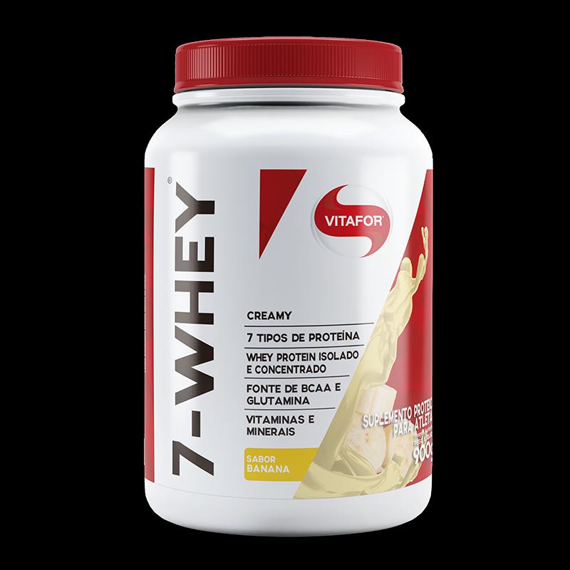 7 Whey Creamy (900g) Vitafor-Banana