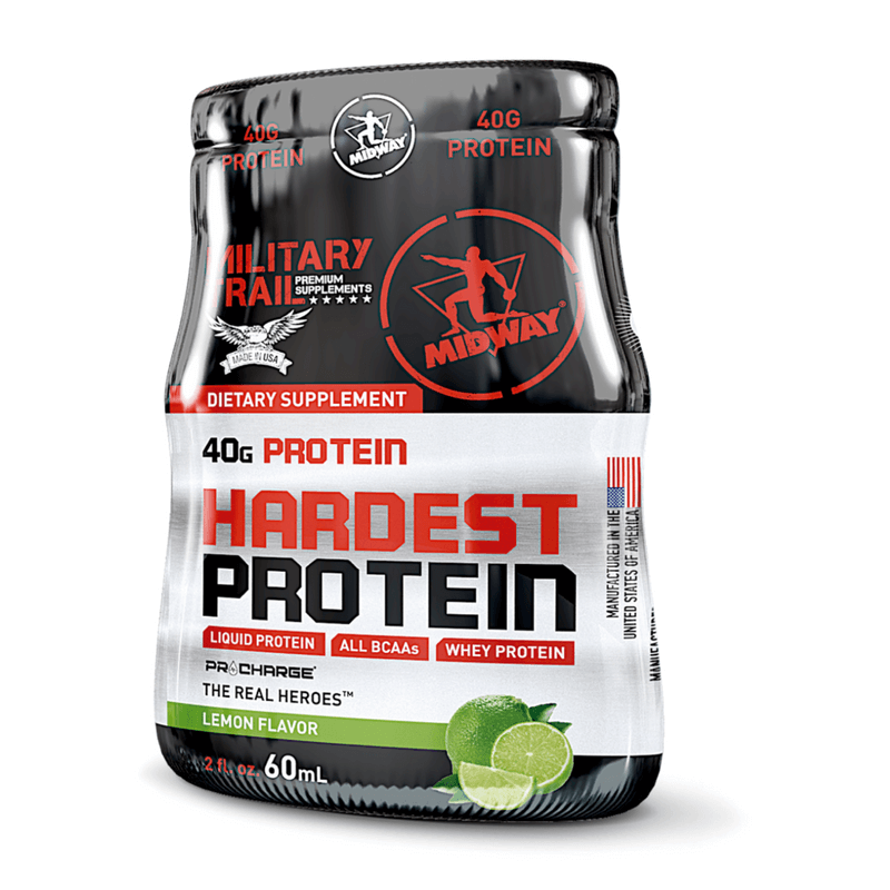 Hardest Protein Liquid (60ml) Military Trail