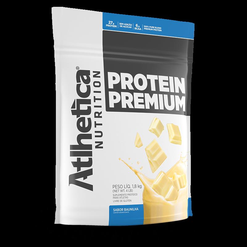 Protein Premium (1800g) Atlhetica Nutrition-Baunilha