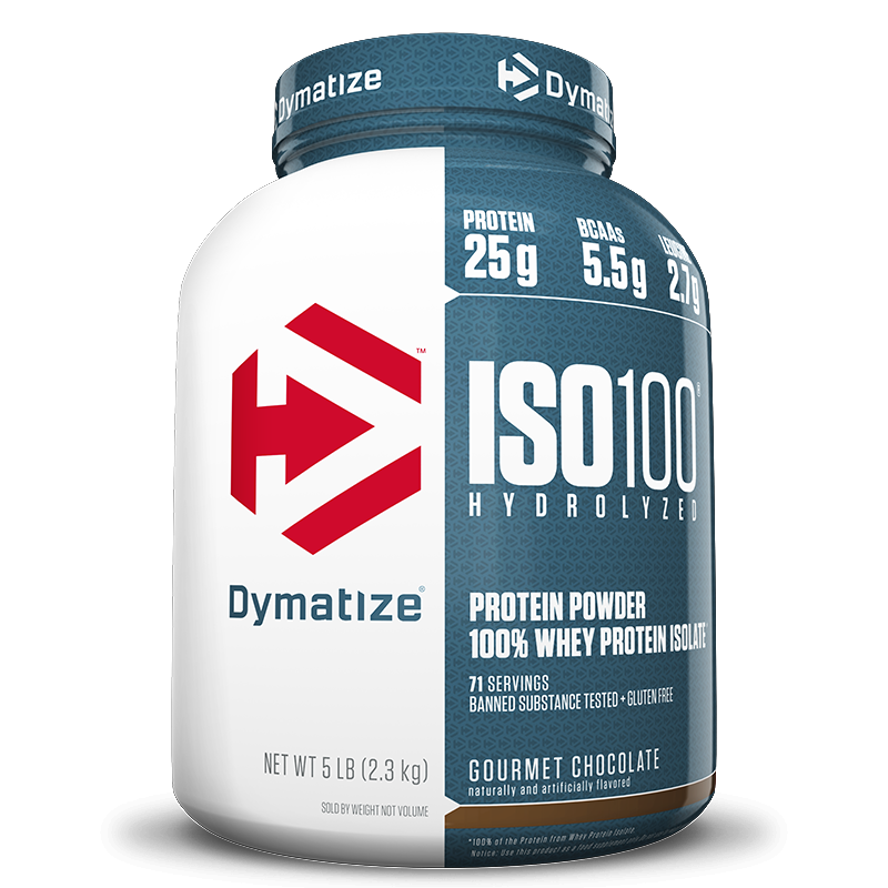 ISO 100 - 100% Hidrolyzed (2258g) Dymatize-Chocolate