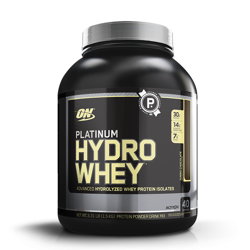 Platinum Hydro Whey (1590g) Optimum Nutrition-Baunilha