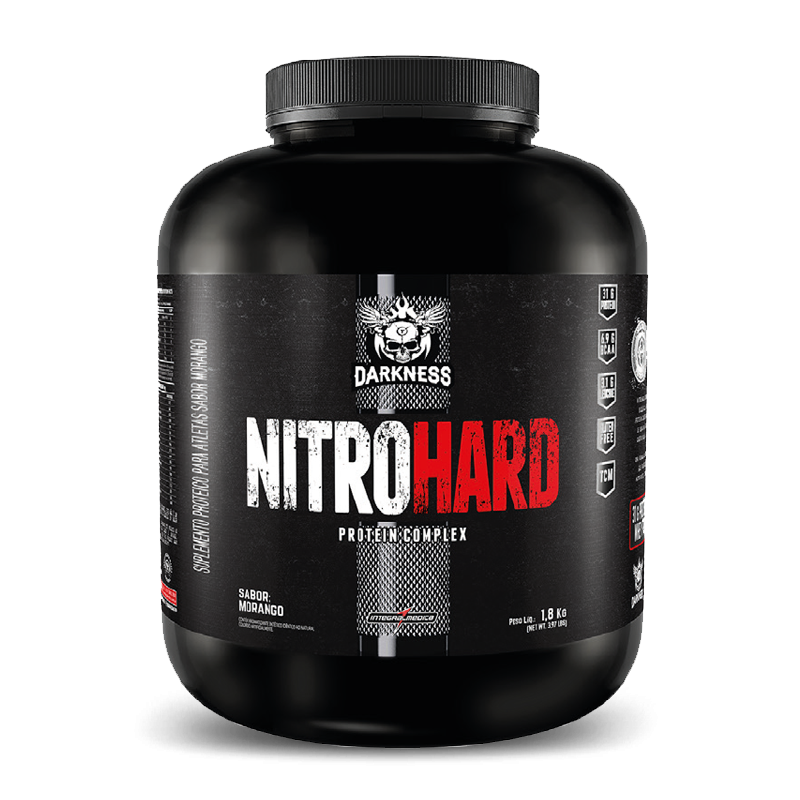Nitro Hard (1800g) Darkness IntegralMedica-Chocolate