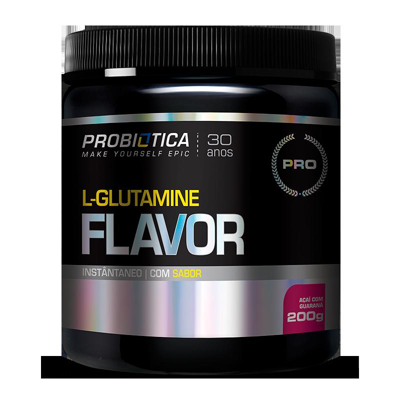 L-Glutamine Flavor (200g) Probiótica-Limão