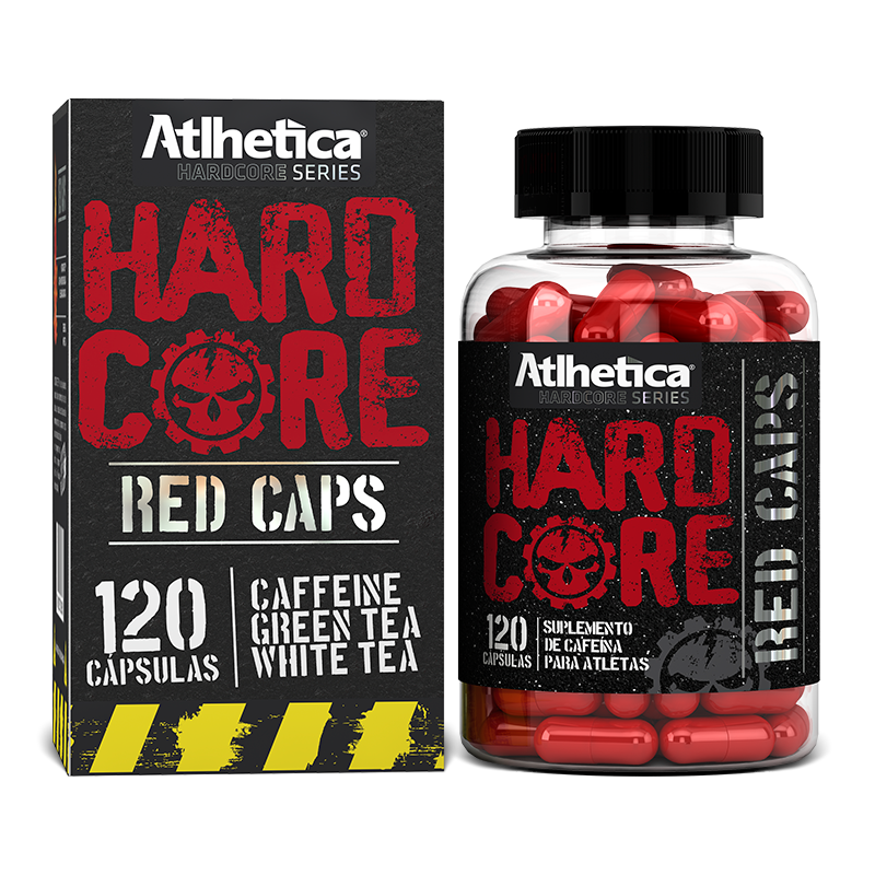 Hardcore Red Caps (120caps) Atlhetica Nutrition