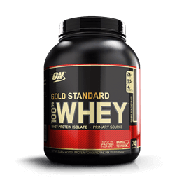 100% Whey Protein (2270g) Optimum Nutrition-Vanilla Ice Cream - Sorvete de Baunilha
