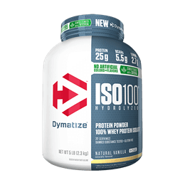 ISO 100 - 100% Hidrolyzed Stevia (2267g) Dymatize-Chocolate