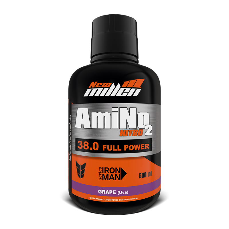 Amino No2 38000 (500ml) New Millen-Cereja