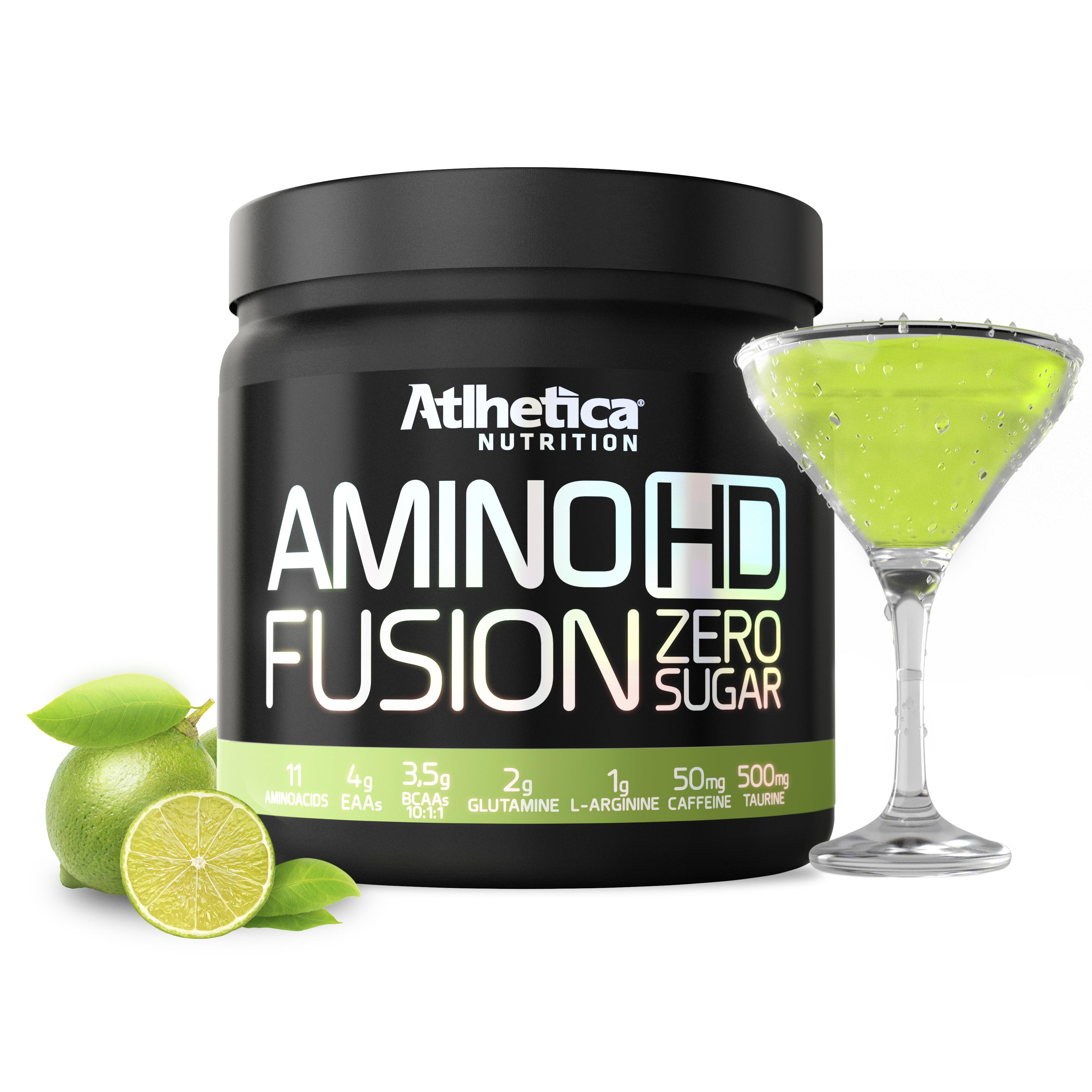 Amino HD Fusion (450g) Atlhetica Nutrition-Guaraná com Açaí