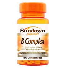 B Complex (Complexo B) (100comps) - Sundown