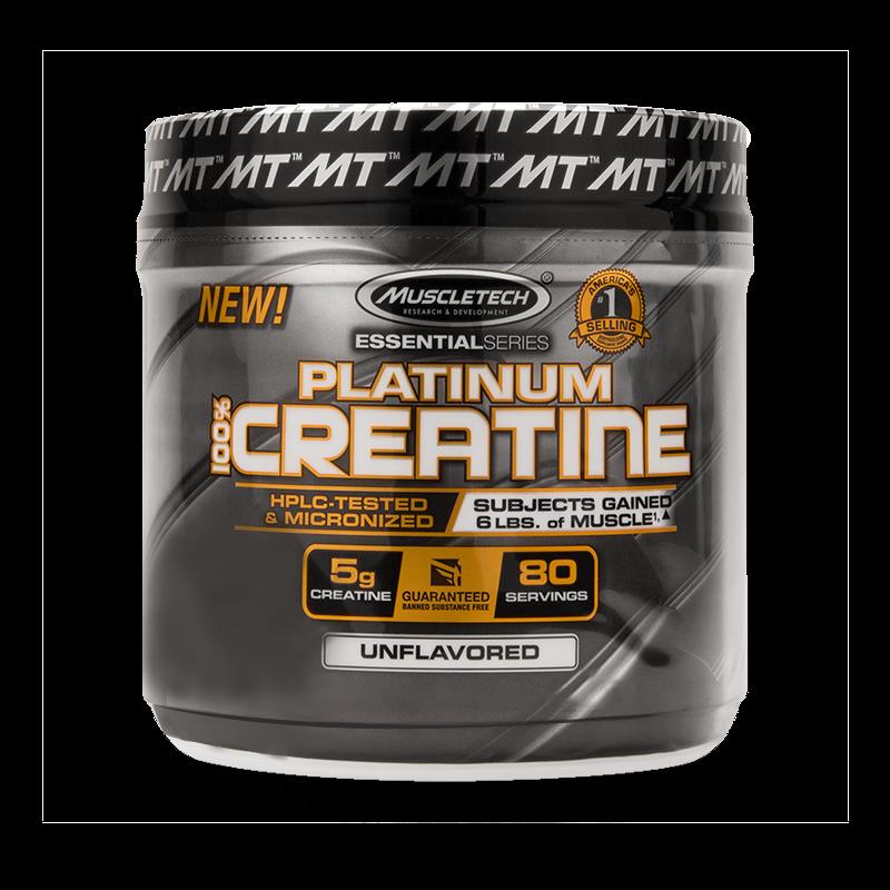 Platinum 100% Creatine Micronized (100g) MuscleTech