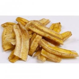 Banana Chips com Canela Granel 200g - Biopoint