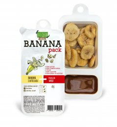 Banana Pack Avelã com Cacau 46g - Eat Clean