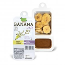 Banana Pack com Açúcar de Coco 46g - Eat Clean