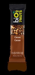 Barra 7 Nuts Cacau 25g - BiO2