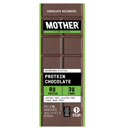 Barra de Chocolate Proteíca 40g - Mother Nutrients