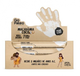 Barra Go Paleo Macadamia + Coco 12x25g - Super Saude