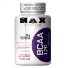 BCAA 1,2G c/ Vitamina B6 (272 tabs) - Max Titanium