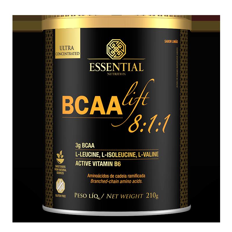 BCAA Lift 8:1:1 (210g) Essential Nutrition-Limão