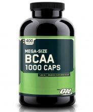 BCAA 1000 (400caps) Mega Size - Optimum Nutrition
