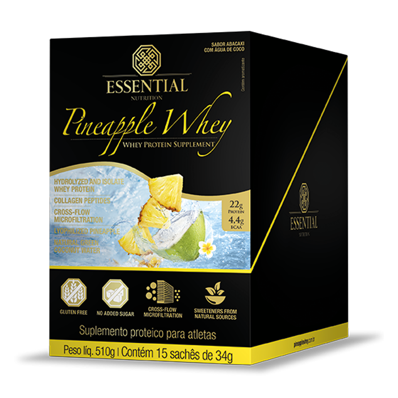 Pineapple Whey (15sachês-30g) Essential Nutrition