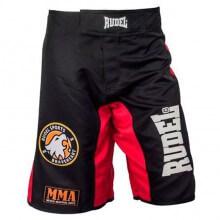 Bermuda MMA Adler (Preto/Vermelho) - Rudel