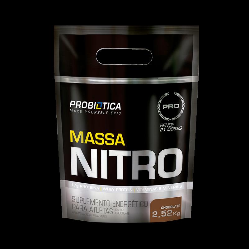 Massa Nitro Refil (2520g) Probiótica