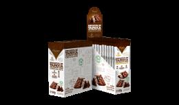 Biscoito de Tapioca c/ Chocolate TRIO 10x15g - Fhom