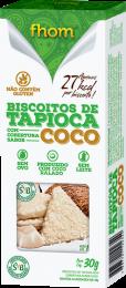 Biscoito de Tapioca c/ Coco 30g 2 unidades - Fhom