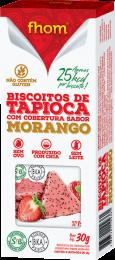 Biscoito de Tapioca c/ Morango 30g 2 unidades - Fhom