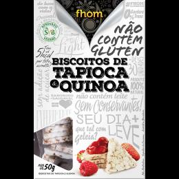 Biscoito de Tapioca c/ Quinoa 50g - Fhom