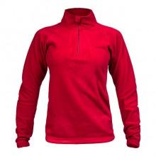 Blusa Zip Thermo Fleece Feminina (Vinho) - Curtlo